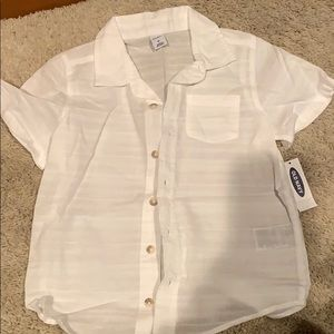 Boys 5T button up